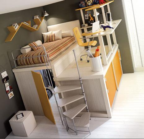 以白色为主的个人卧室